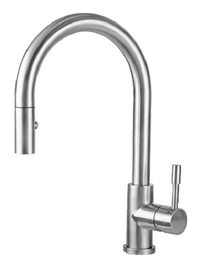 Castle Bay Caledon II Kitchen Pullout Faucet Stainless Steel