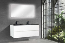 "Emily 67"" Double Sink Wall Mount Bathroom Vanity"