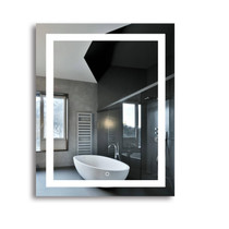 "RenoPlus 30"" x 32"" LED Bathroom Mirror"