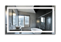 "RenoPlus 60"" x 32"" LED Bathroom Mirror"