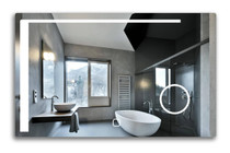 "Pattaya 48"" x 32"" LED Bathroom Mirror"
