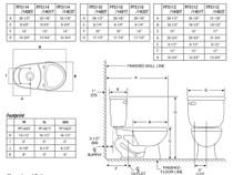 PROFLO Jerritt Two-Piece Elongated Toilet - Standard Height