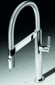 Blanco BLANCOCULINA MINI Pull Out Kitchen Faucet Chrome