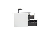 "Emily 26"" Wall Mount Bathroom Vanity"