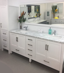 "Armada 78"" Bathroom Vanity & Side Cabinet Tower"