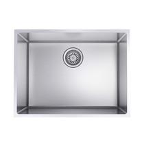 "Rubi Riesling Single Bowl Kitchen Sink with Rounded Corners, Undermount 23"" x 17 1/2"" x 9"""