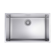 "Rubi Riesling Single Bowl Kitchen Sink with Rounded Corners, Undermount 27"" x 17 1/2"" x 9"""