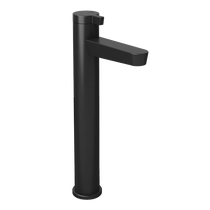 Rubi Abyss Raised Single Lever Washbasin Faucet No Drain Black
