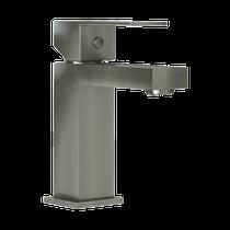 Rubi Quatro Single Lever Washbasin Faucet with Drain Brushed Nickel