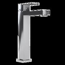 Rubi Quatro Raised Single Lever Washbasin Faucet with Drain Chrome