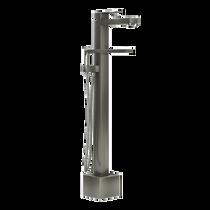 Rubi Quatro Freestanding Bathtub Faucet Brushed Nickel