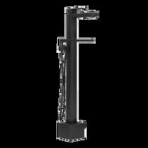 Rubi Quatro Freestanding Bathtub Faucet Black