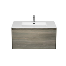 "Rubi Aria 35"" Washbasin Cabinet Wood"