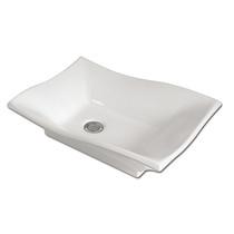 Rubi Lucy Countertop Washbasin White
