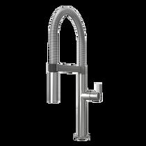 Rubi Nina Single Lever Professional Style Kitchen Faucet Inox - RNI91D2IX