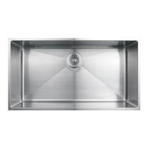 "Rubi Merlot Undermount Single Bowl Kitchen Sink with Rounded Corners 31 1/2"" x 17"" x 8 5/8"""