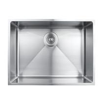 "Rubi Merlot Undermount Single Bowl Kitchen Sink with Rounded Corners 22 1/2"" x 17"" x 8 5/8"""