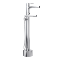 Rubi Billie Freestanding Bathtub Faucet with Hand Shower Chrome