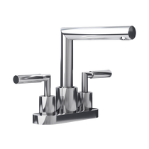 "Rubi Billie 4"" c.c. Washbasin Faucet with Drain Chrome"