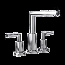 "Rubi Billie 8"" c.c. Washbasin Faucet with Drain Chrome"