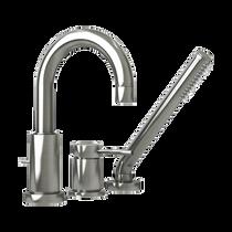 Rubi Dana Three-Piece Bathtub Faucet Brushed Nickel