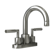 "Rubi Dana 4"" c.c. Washbasin Faucet Brushed Nickel"