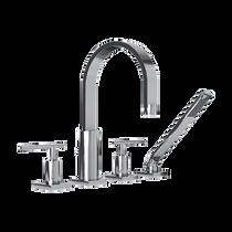 Rubi Evita Four-Piece Bathtub Faucet Chrome