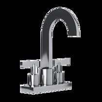 "Rubi Gabriella 4"" c.c. Washbasin Faucet Chrome"