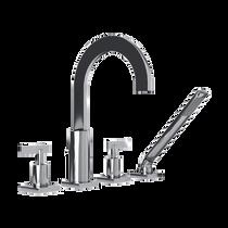 Rubi Gabriella Four-Piece Bathtub Faucet Chrome