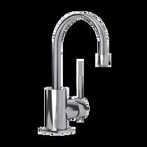 Rubi Hadria Single Lever Washbasin Faucet with Drain Chrome