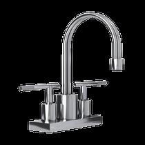 "Rubi Hadria 4"" c.c. Washbasin Faucet Chrome"