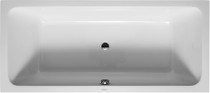 Duravit D-Code central outlet Drop In Bath Tub 72 x 32""