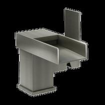 Rubi Kali Single Lever Washbasin Faucet No Drain Brushed Nickel