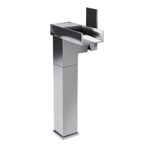 Rubi Kali Raised Tall Single Lever Washbasin Faucet No Drain Chrome