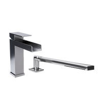 Rubi Kali Two-Piece Bathtub Faucet Chrome
