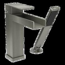 Rubi Kali Two-Piece Bathtub Faucet Brushed Nickel