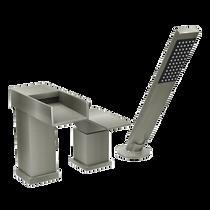 Rubi Kali Three-Piece Bathtub Faucet Brushed Nickel