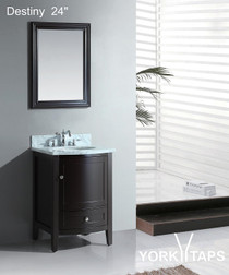 "Destiny 24"" Bathroom Vanity Espresso"
