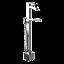 Rubi Kaskad Freestanding Bathtub Faucet Chrome