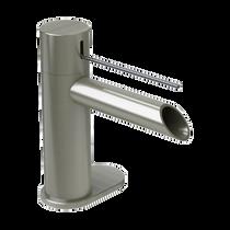 Rubi Kronos Single Lever Washbasin Faucet No Drain Brushed Nickel
