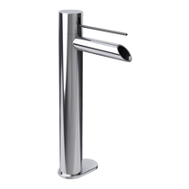 Rubi Kronos Raised Single Lever Washbasin Faucet No Drain Chrome