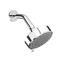 Rubi Myrto Arm and Shower Head Set Chrome