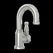 Rubi Qabil Single Lever Washbasin Faucet No Drain Brushed Nickel
