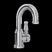 Rubi Qabil Single Lever Washbasin Faucet with Drain Chrome