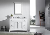 """Argento 48"""" Bathroom Vanity White"""
