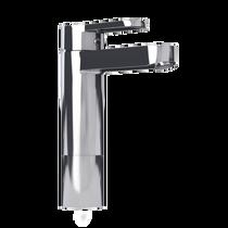 Rubi Uno Raised Single Lever Washbasin Faucet No Drain Chrome