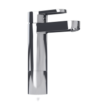 Rubi Uno Raised Single Lever Washbasin Faucet with Drain Chrome