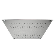 Rubi Cumulus Built-in Square Rain Head for Shower Polished Stainless Steel