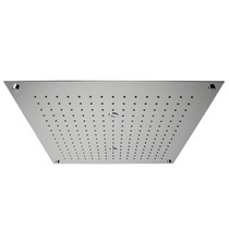 Rubi Stratus Built-in Square Rain Head for Shower Polished Stainless Steel
