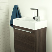 "Rubi Arto 18"" Undrilled Sink Cabinet with Door Oak"